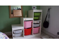Beautiful Storage combination with 9 boxes for KIDS