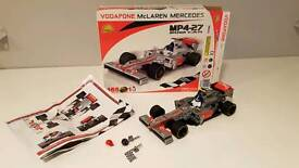 Lego style F1 Racing car, Vodafone Mclaren Mercedes MP4-27 2013 Car Model, Cobi Lego