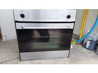 Cooker integrated. Hob & extractor