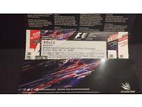F1 Silverstone Grand Prix, International Pits Straight ticket