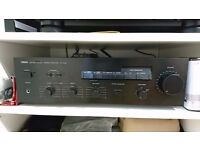 Yamaha AX-400 Stereo amp. Perfectly functioning and scratch less.