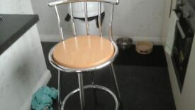 Two lovely bar stools as new