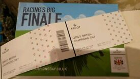2x Ascot Champions Day Early Bird Price