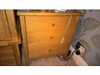 oak furniture land bed side draw must go soon