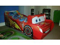 Disney Cars Lightning McQueen Bed