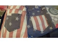 SoulCal American Flag Trousers