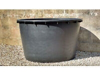 Very Large heavy duty garden planter/fish pond/water butt 285 ltr/60 gals