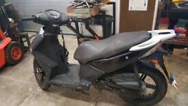 Kymco Agility City 2011 50cc 4 stroke - Good Condition Low Mileage 12 months MOT