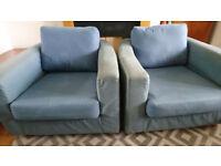 2 Habitat armchairs