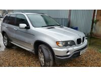 2002 BMW X5 E53 3.0 PETROL - SPARES OR REPAIR ( CYLINDER HEAD CRACK )