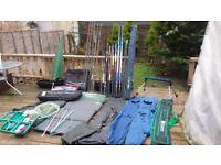 carp rods pole feeder job lot
