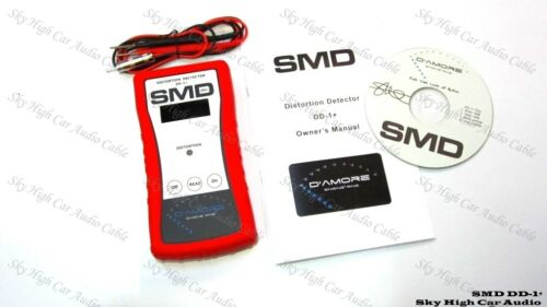 SMD DD1+ Steve Meade Distortion Detector DD-1+ Car Audio Amp Signal Test Tone CD