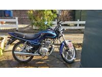 Lifan Mirage 125cc motorbike - Excellent Condition - Great Learner Bike!