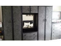 Lovely 3 piece wardrobes