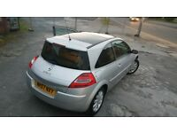 immaculate 57 plate megane 1.5 dci, 6 speed drives spot on no mechanical issues at all, £30 tax p.a