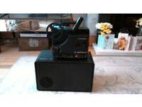 Agfa Sonnector LS Film Projector - 1980's Kodak retro Super 8 8mm sound cine movie film projector