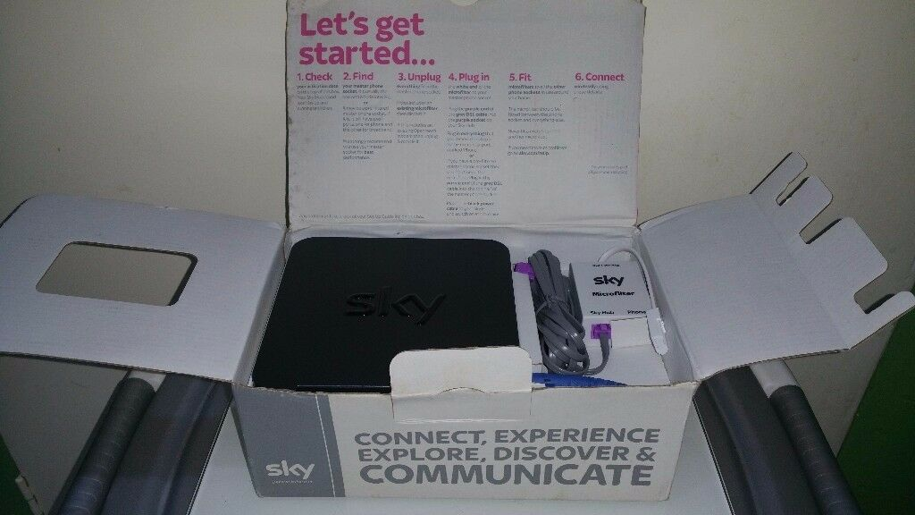 Sky hub in very good condition ! boxed can deliver or posted!