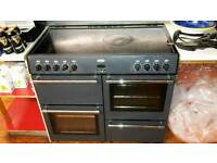Belling Country Classic 100E Electric Range Cooker - Anthracite