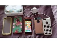 I Phone 5c & Accessories