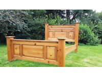 KING SIZE DOUBLE BED FRAME
