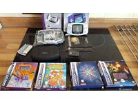 Boxed Retro Nintendo Gameboy Advance With Games Game Boy Mint