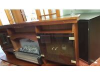 Electric Fire with surround - Good Condition