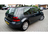VOLKSWAGEN GOLF 1.8 GTI, 6 SPEED, PETROL ALLOYS, LONG MOT PX