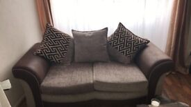 two almost new sofas