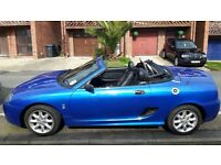 MG TF blue 1.6 petrol manual only 47k