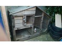 Large rabbit hut