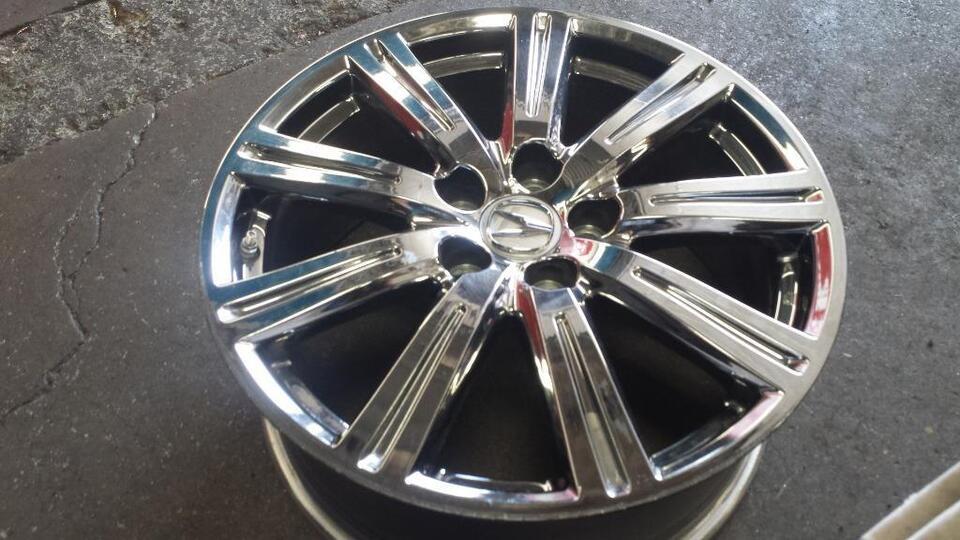 ACURA TL SHAWD ASpec Set Of OEM Original RIMSTPMS - Acura tl 19 oem wheels