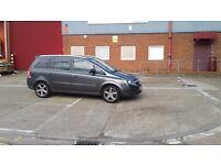 Vauxhall Zafira 1.9 diesel 7 seater reg 2010 60 plate service history mileage 135 thousand