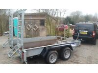 10' x 6' Indespension Low Loader Plant Trailer £1875 + VAT
