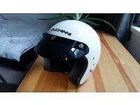 Ducinni Open Face Motorcycle Helmet (Retro Style)