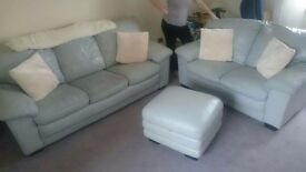 ** FOR SALE ** 3 seater, 2 seater & storage stool