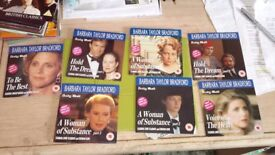 7 new dvds in the Barbara Taylor Bradford range as follows :-