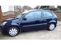 2006 Ford Fiesta 1.2 , 3 Door - 11 months MOT - only 2 prev owners - 63 K - Cheap Tax
