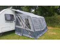 Vango Varkala 420 Inflatable Caravan Awning (as new)