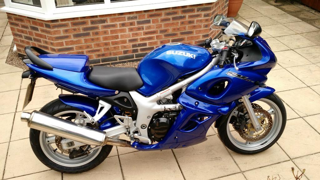 now sold suzuki sv650 sk1 full fairing 2001 y excellent condition only 17 800 miles. Black Bedroom Furniture Sets. Home Design Ideas