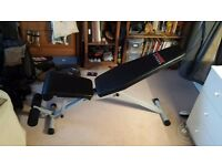 YORK Fitness - 13 Position Utility Excercise Bench - Mint Condition