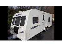 4 berth fixed bed 2010.Bailey Pegasus 462. Twin axel with extras
