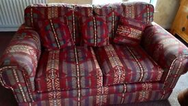 3 seater & 2 seater sofas and armchair in County Down