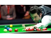 UK Snooker Championship SEMI FINAL evening session tickets (York Barbican) Saturday 9th December '17