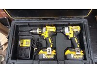 DEWALT DCD795,DCF886 Brushless Twin Pack 18 Volt 2 x 5.0Ah Li-Ion