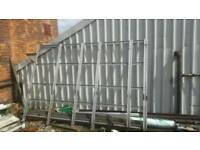 Roof rack glazing rack