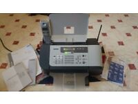 Brother FAX-1560 & DECT Handset BCL-D20 Fax Machine and Cordless Phone