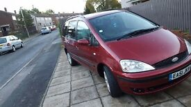 Reduced Ford galaxy 1.9tdi 6speed manual nice and clean tax mot swap px available
