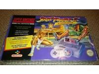 Rare boxed SNES Super Nintendo Street Fighter II Turbo