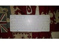 IWANTIT IKBBTWH13 Wireless Tablet Keyboard - White FOR IPADS