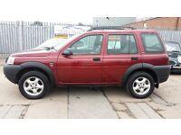 2002 Land Rover freelander td4 automatic